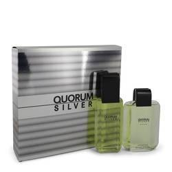 Quorum Silver Gift Set By Puig - Fragrance JA