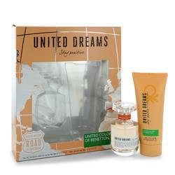United Dreams Stay Positive Gift Set By Benetton - Fragrance JA