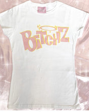 Load image into Gallery viewer, BitchZ shirt (Bratz) white