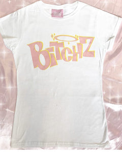 BitchZ shirt (Bratz) white