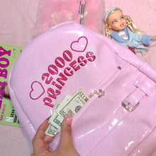 Load image into Gallery viewer, 2000's Princess BACKPACK Ships on august 30 🎀💕💓✨
