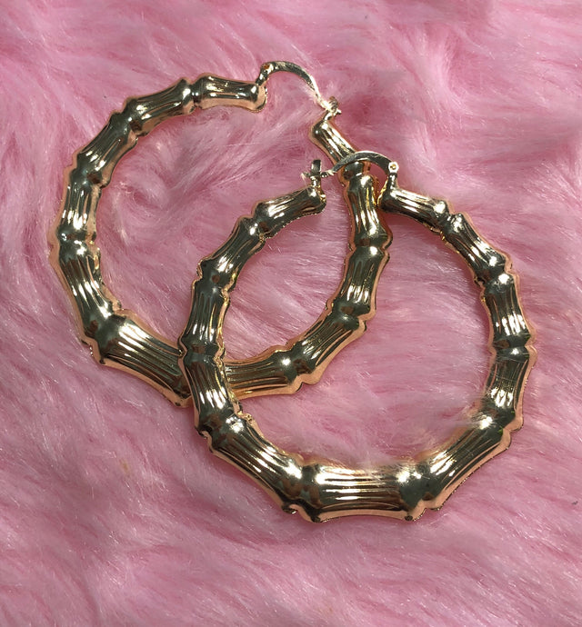 Basic bamboo Hoops