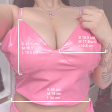 Load image into Gallery viewer, Life in plastic Bralette