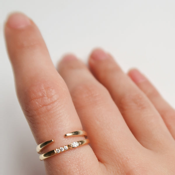 Marquise Stacking Ring