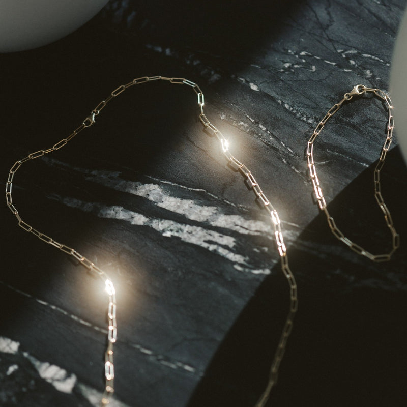Ari Paperclip Necklace