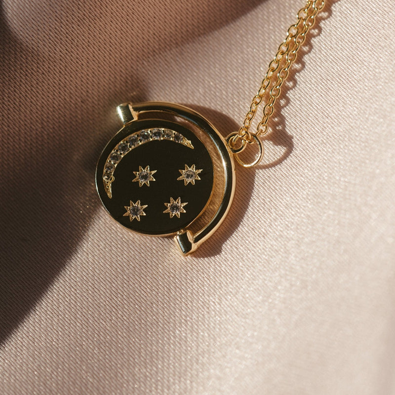 Celestial Pendant Necklace