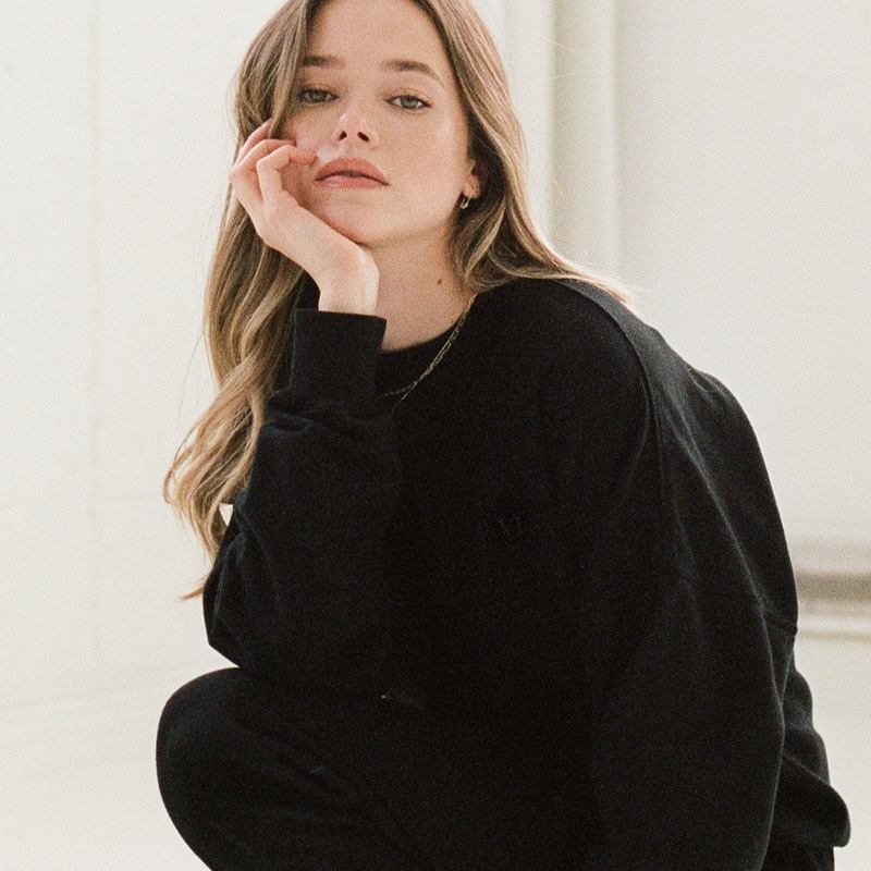 Everyday Sweatshirt Black