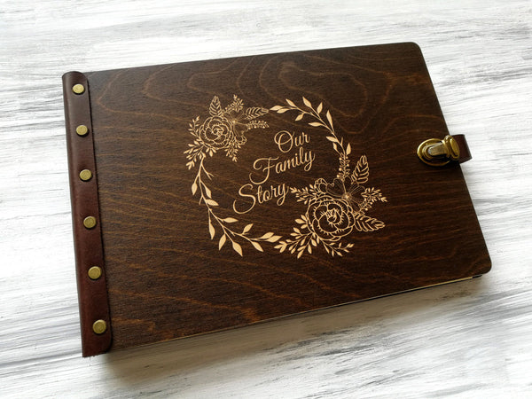 Custom Order: Cutting Board & Photo Album