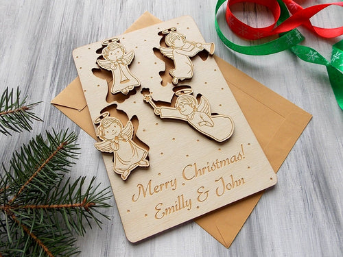 Wooden Greeting Cards 9x6