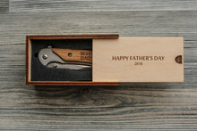 Load image into Gallery viewer, Daddy Gifts from Daughter Father's Day Gift from Son Engraved Knife Custom Pocket Knife Personalized Gifts for Dad Custom Gifts for Him