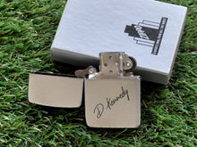Load image into Gallery viewer, Personalized Lighter Zippo Engraved Lighter Custom Handwriting Signature Personalized Gifts for Dad Fathers Day Gift from Son Husband Gift