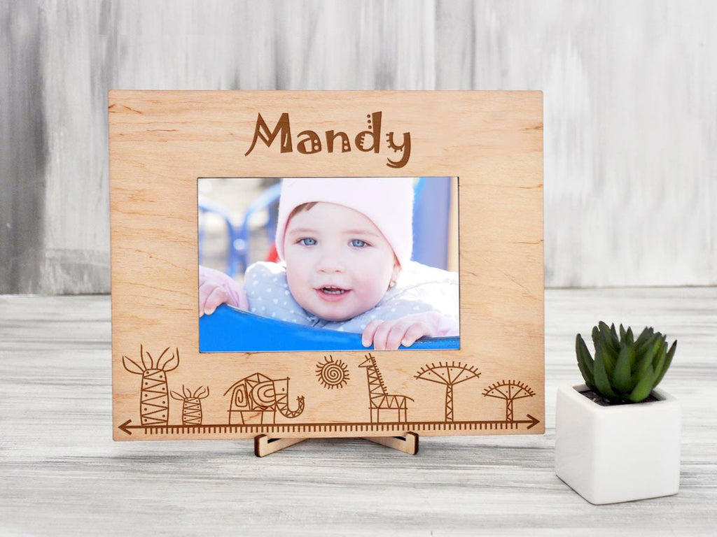 Personalized Baby Picture Frame Baby Girl or Boy Frame New Mom Gift Engraved Newborn Baby Gift Custom Nursery Photo Frame New Baby Frame