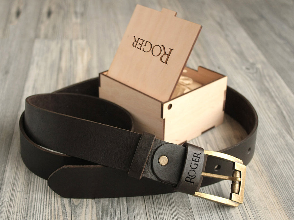 Groomsmen Gifts Father of the Bride Gift Best Man Gifts Personalized Leather Belt Gifts for Him Christmas Gift for Men Wedding Gift for Dad