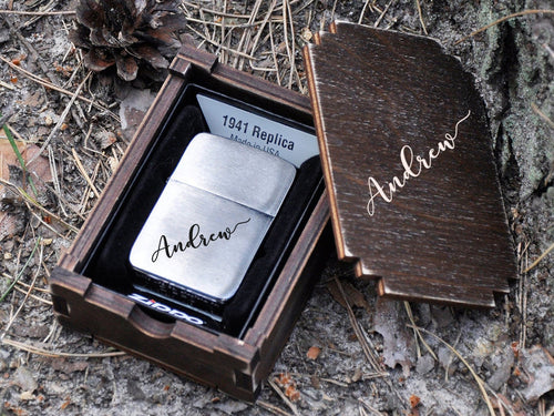 Groomsmen Gifts for Him Engraved Lighter Zippo Personalized Gift Ideas Handwriting Signature Gifts Wedding Gift for Groom Gifts for Men
