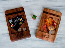 Load image into Gallery viewer, Desk Organizer, Wood iPhone Dock Station, Dad Birthday Gift, Fathers Day Gift from Daughter,Dad Gifts,Anniversary Gifts for Him Personalized