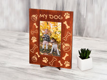 Load image into Gallery viewer, Personalized Photo Frame My Dog Picture Frame Pet Lovers Gift for Daughter Sympathy Frame Pet Loss Gift Dog Memorial Gift 4x6 Photo Frame