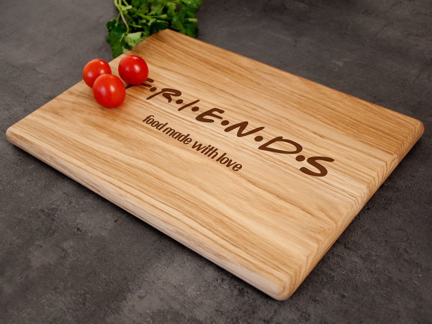 Custom Cutting Board Friends TV Show Gifts Engraved Chopping Board Birthday Gift Kitchen Board Graduation Gift Christmas Gift New Home Gift