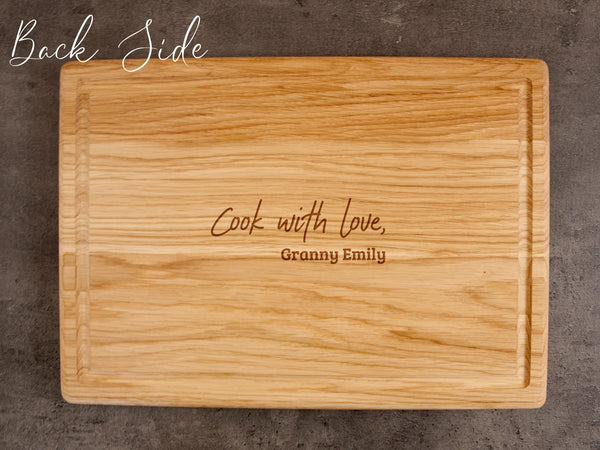 Recipe Cutting Board Christmas Gift for Daughter Custom Cutting Board Mom Birthday Gift Wooden Cutting Board Personalized Engraved Recipe