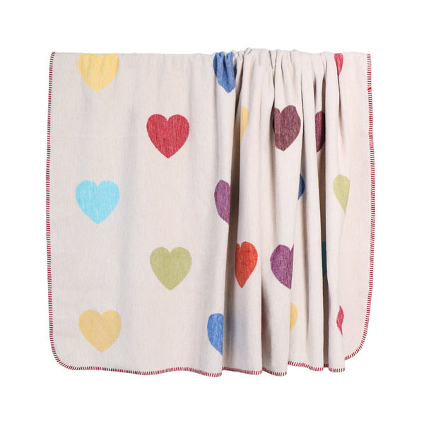House of Little Jay | Heart Blanket