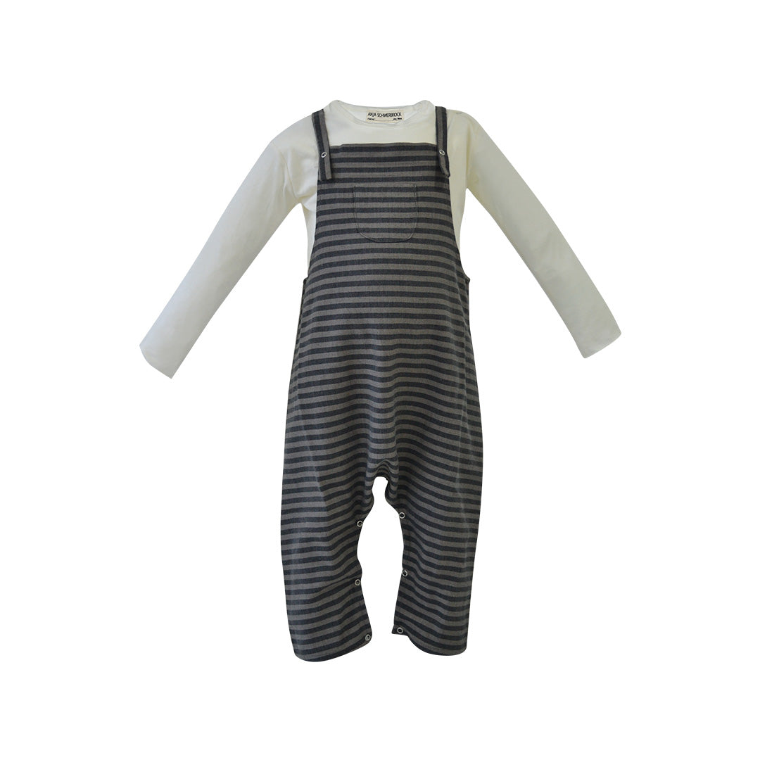 House of Little Jay | Striped Overall