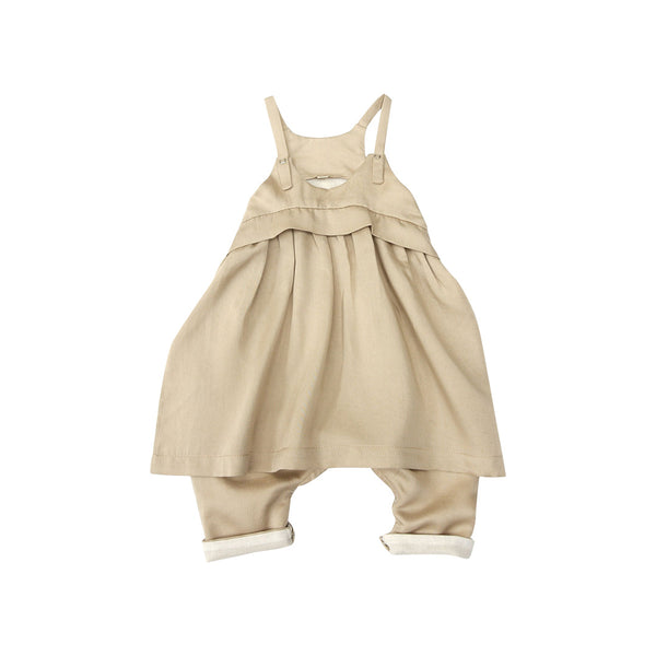 House of Little Jay | Beige Overall