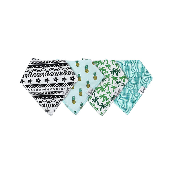House of Little Jay | Maui Bandana Bib Set
