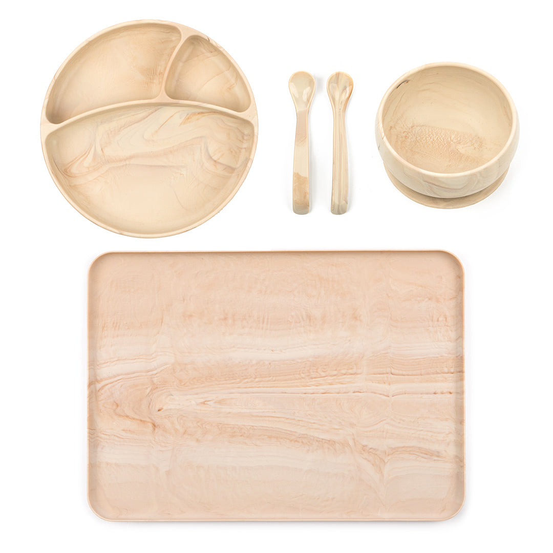 House of Little Jay | Wood Dinner Set