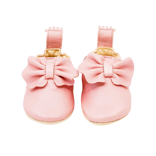 House of Little Jay | Pink Bow Shoes