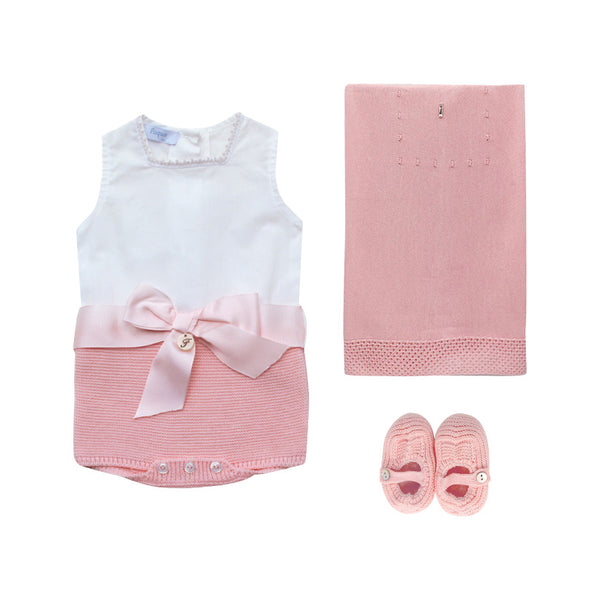 House of Little Jay | Pink Newborn Set