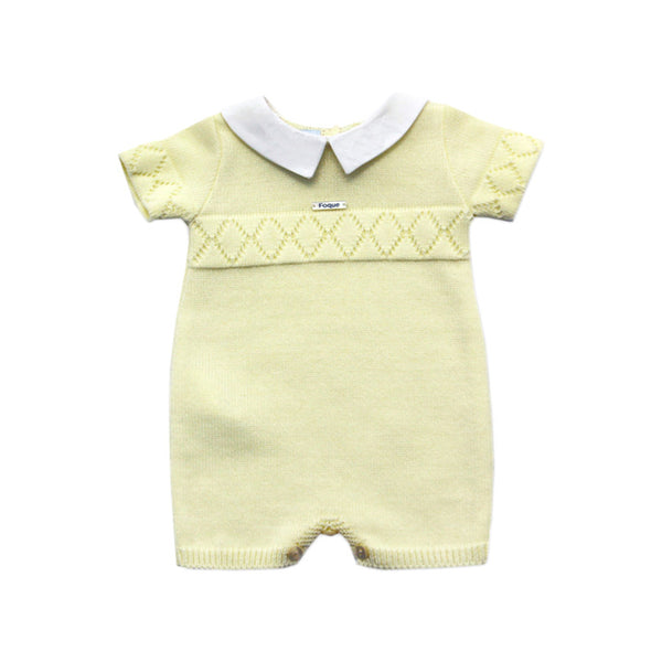 House of Little Jay | Baby Knitted Romper