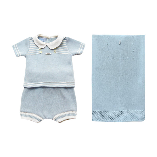 House of Little Jay | Blue Newborn Set