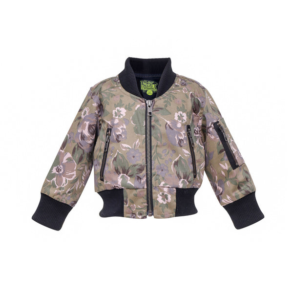House of Little Jay | Floral Bomber Jacket