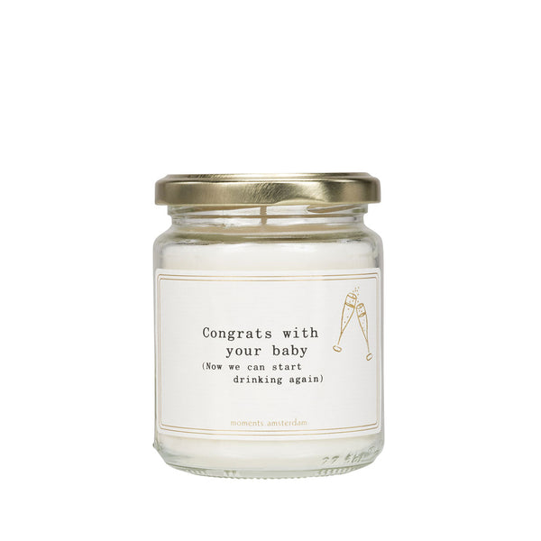 House of Little Jay | Congrats Baby Candle