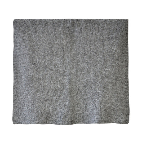 House of Little Jay | Grey Knitted Blanket
