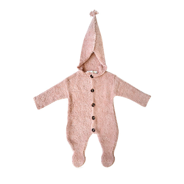 House of Little Jay | Pink Knitted Pramsuit