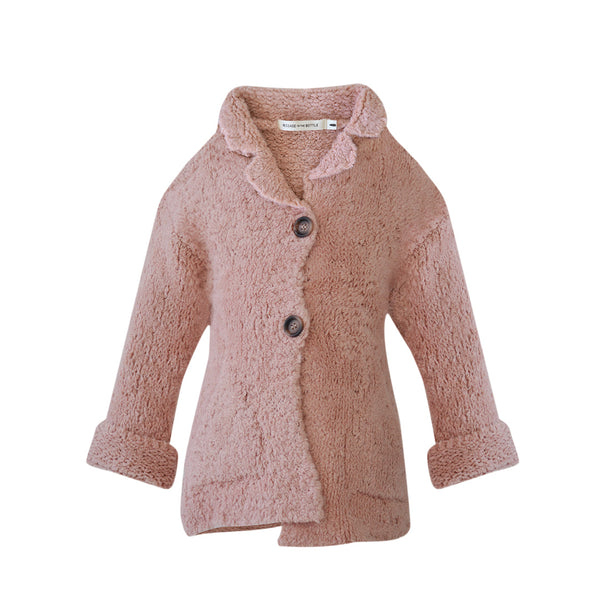 House of Little Jay | Pink Knitted Cardigan