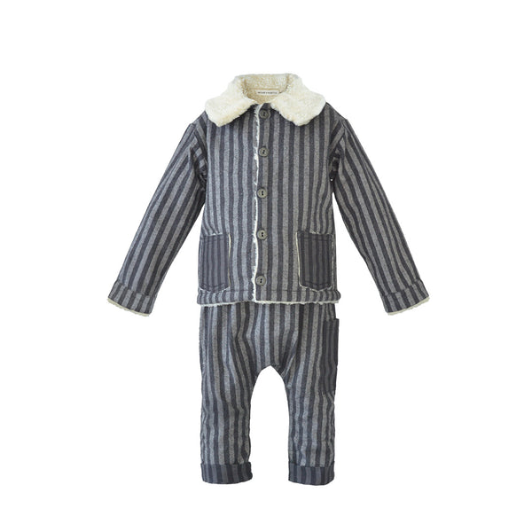 House of Little Jay | Striped Jacket & Pants