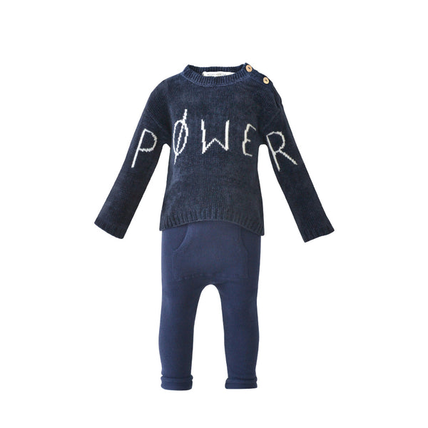 House of Little Jay | Power Knitted Sweater & Pants