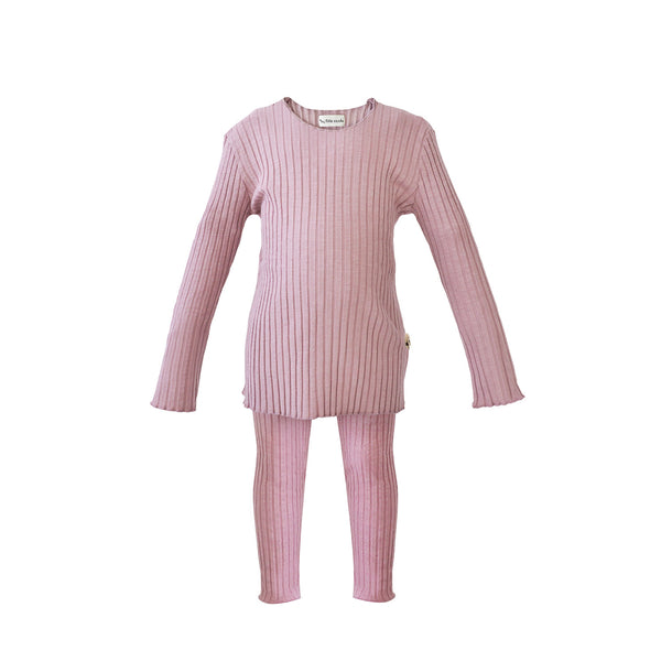 House of Little Jay | Rib Set - Vintage Pink
