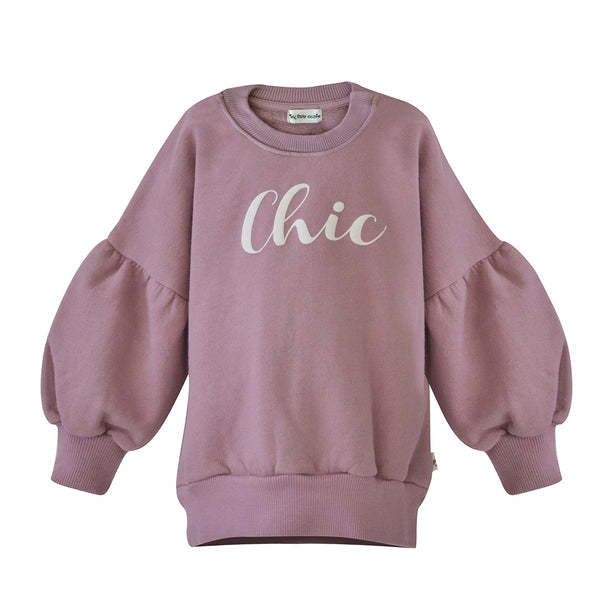House of Little Jay | Vintage Pink Chic Sweater