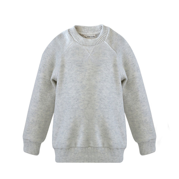 House of Little Jay | Light Grey Sweater