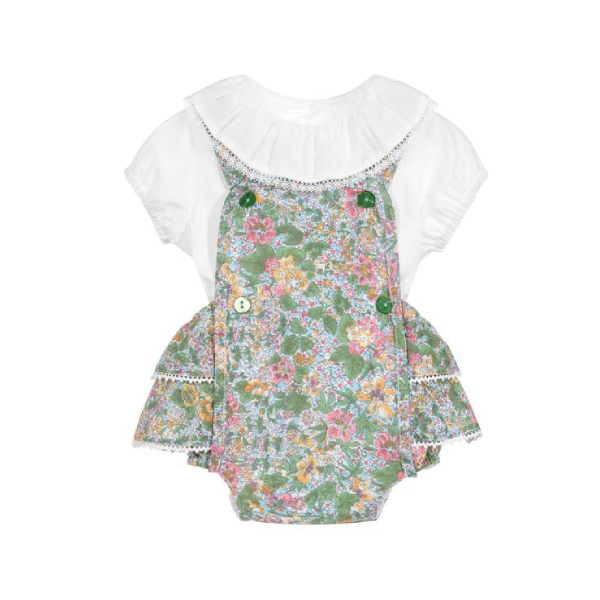 House of Little Jay | Floral Romper