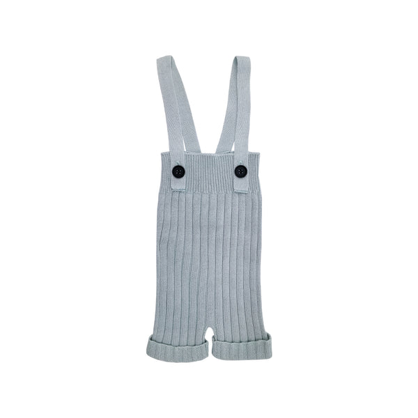 House of Little Jay | Knitted Blue Grey Overall