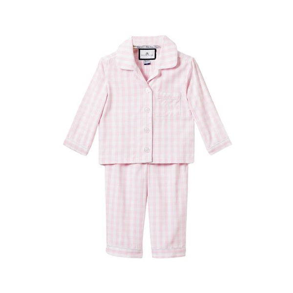 House of Little Jay | Pink Gingham Pajama Set