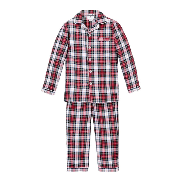 House of Little Jay | Festive Tartan Pajama Set