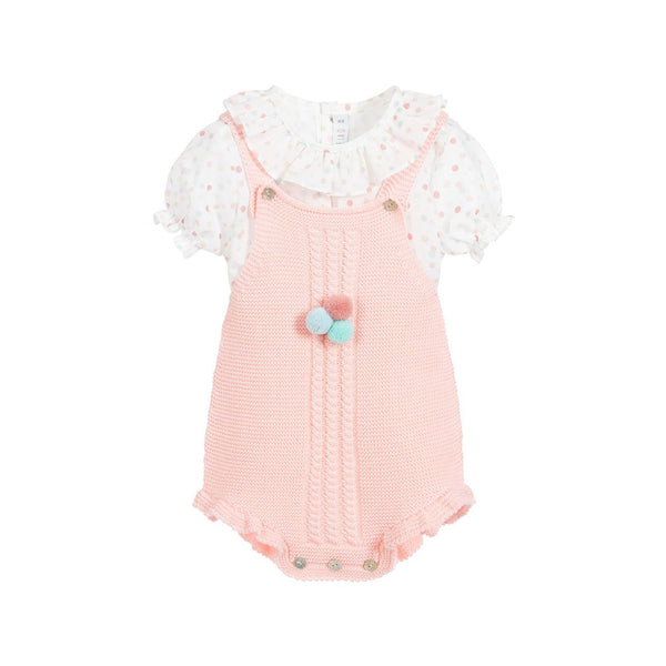 House of Little Jay | Pom Pom Romper