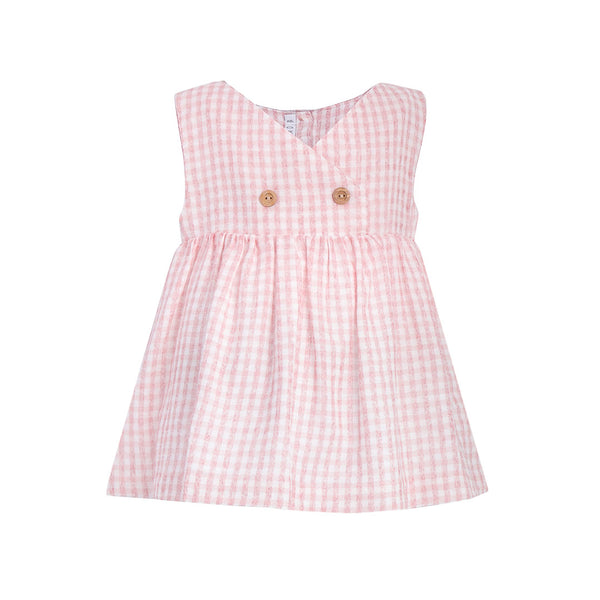 House of Little Jay | Pink Gingham Dress