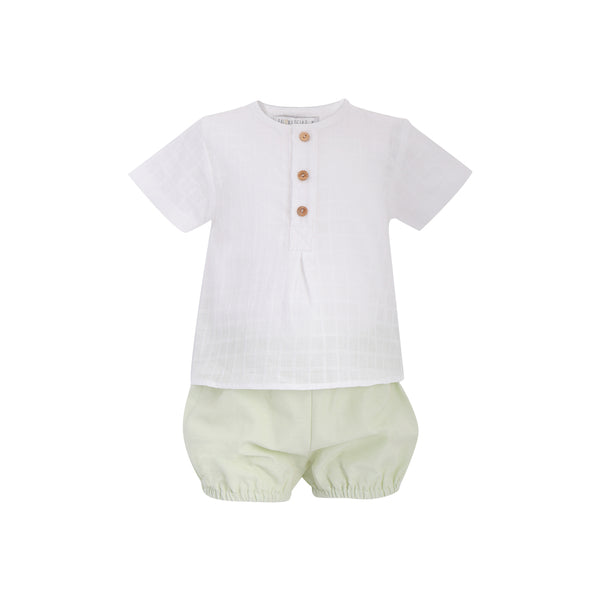 House of Little Jay | Buttoned Top & Shorts