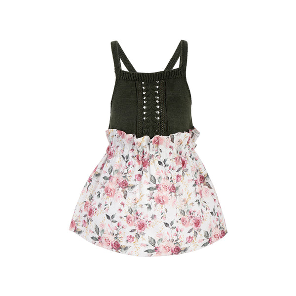 House of Little Jay | Halter Top & Floral Skirt