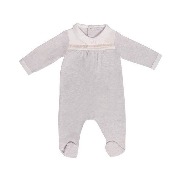 House of Little Jay | Grey Onesie